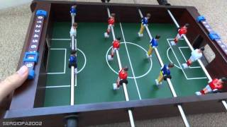 Holiday gift ideas: inexpensive table top foosball soccer board game review