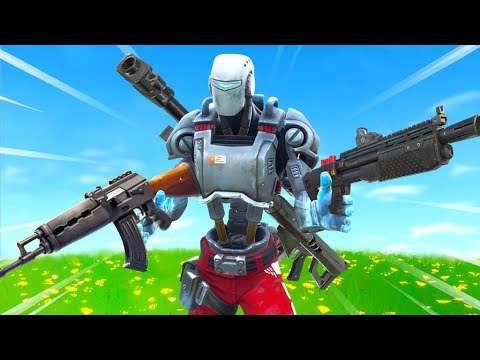 Fortnite but HEAVY Weapons ONLY