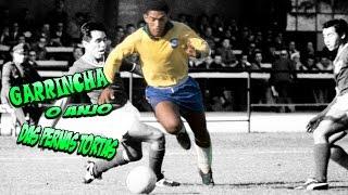 Garrincha - O Anjo das Pernas Tortas ●King of Dribble● ⊕Amazing Skiils⊕