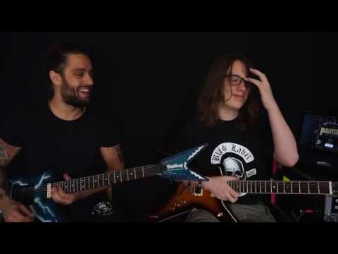 PanterA - War Nerve Official live version - Master and (15 year old) Brother edition