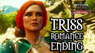 The Witcher 3: Blood and Wine - Triss Romance Ending