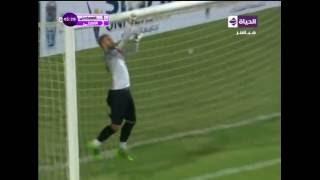 """الحاوي """"وليد سليمان"""" من منتصف الملعب الي العارضة مباشرة .... """" الاهلي vs الاسماعيلي """""""