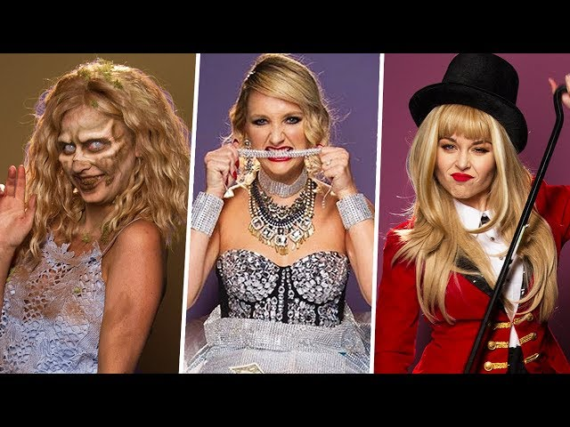 Taylor Swift TAKEOVER for Clevver HALLOWEEN! (Lunchy Break)