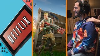 NO NETFLIX for Switch + Fortnite BIGGEST GAME EVER? + AGDQ Breaks Records - The Know