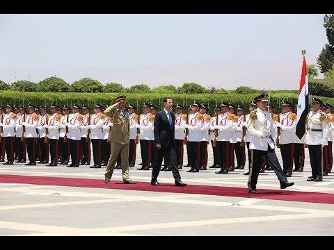 President al Assad swearing in ceremony & full milestone speech