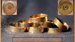 BEAUTIFUL SHOTGUN SHELL RINGS