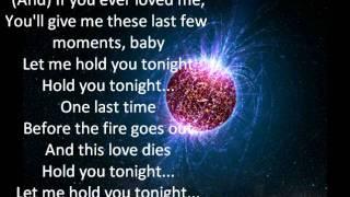 Claude Kelly - Hold u Tonight lyrics