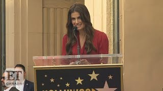 Idina Menzel Accepts Star On Hollywood Walk Of Fame | FULL SPEECH