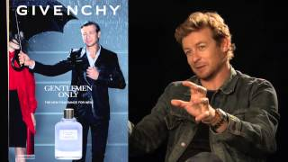 Simon Baker 2013 - the Face of Gentlemen Only by Givenchy