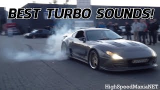 Top 10 Best Turbo Sounds COMPILATION! - [ 2014 ]