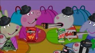 MLG Peppa Pig Peppa Pig Threatend To Kill Suzie Sheep