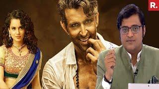 Hrithik Roshan Accuses Kangana Ranaut Of STALKING   The Debate With Arnab Goswami