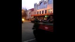 Тренировка парада. Техника ВДВ. Псков 07.05.17.
