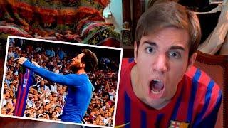 Barcelona vs Real Madrid 2-3 2017 REACCIONES DE UN HINCHA