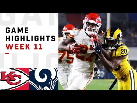 The Greatest Regular Season Game of All Time Chiefs vs. Rams 2018 Highlights
