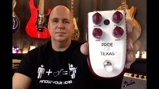 A First look At The Pride Of Texas Pedal by Danelectro