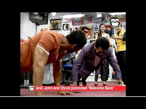 Xxx Mp4 Anil Kapoor Beats John Abraham In Push Ups During Welcome Back Promotion 3gp Sex