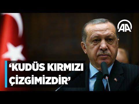 Cumhurbaşkanı Erdoğan: Kudüs Müslümanların kırmızı çizgisidir