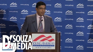 College Students Cheer D'Souza's Defense of Free Speech on Campus