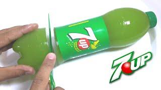How to Make 7UP Soda Gummy Bottle Shape Fun & Easy DIY 7UP Soda Jello Dessert! (4K)