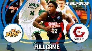 Södertälje Kings (SWE) v Gaziantep (TUR) - Full Game - FIBA Europe Cup 2016/17