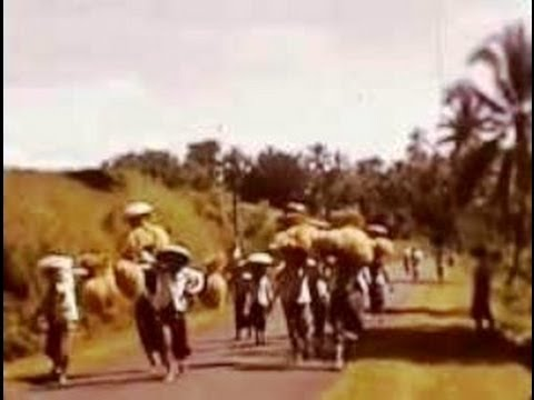 Ubud Bali Indonesia 1937 in Colour Tempo Doeloe