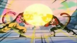 La Fusion de Goku y vegeta ssj4 (audio latino) HD