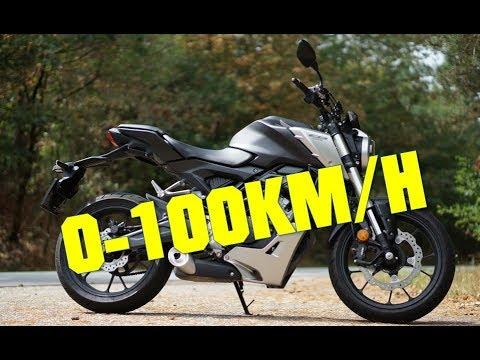 2018 Honda CB125R 0 100 KMH 0 60MPH