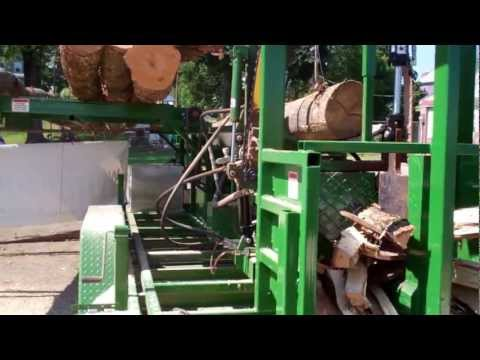 Firewood Processor- Woodbine Pro 20/Chainsaw from CRD Metalworks at the Three County Fair, MA 2012
