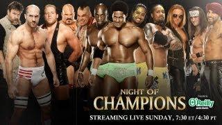 Night of Champions 2013 Kickoff - Tag Team Turmoil No. 1 Contender's Match