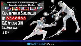COUPE DU MONDE - SABRE MASCULIN - ALGER 2018 - TABLEAU 64 - PISTE BLEUE