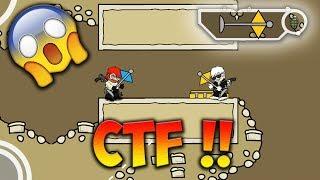 Mini Militia CAPTURE THE FLAG (CTF) New Game Mode GAMEPLAY !! | Doodle Army 2: Mini Militia #51