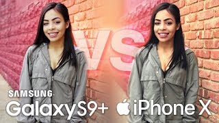 Samsung Galaxy S9 Plus Camera Vs iPhone X!
