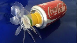 كيفية صنع مروحة من علب كوكا كولا