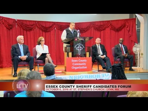 Essex County Sheriff Candidates Forum | October 6, 2016