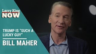"""Bill Maher Says Trump is """"Such a Lucky Guy"""""""