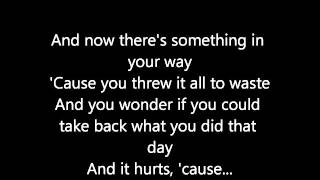 Aftertaste- Shawn Mendes (lyrics)