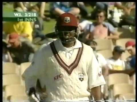 Brian Lara 182 vs Australia 2000 01 Adelaide