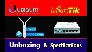 UNBOXING | WISP | UBNT UNIFI AC MESH | MIKROTIK RB750 GR3 | Reviews and Specifications | hindi urdu