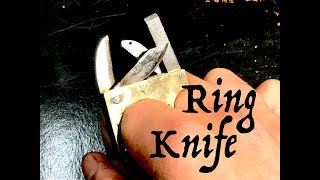 Making a Swiss Army Ring (Folding Ring Knife)