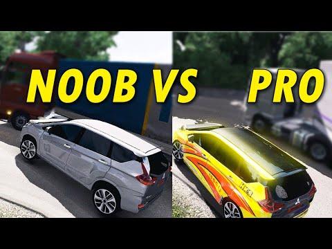 Xxx Mp4 Beda Sopir Pro VS Noob Mitsubishi Xpander Di Sitinjau ETS2 3gp Sex