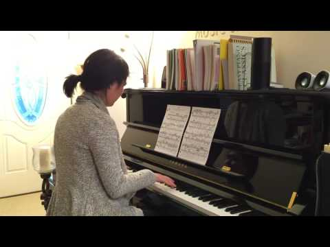 BACH/SILOTI : Air on the G String (14-year-old student)