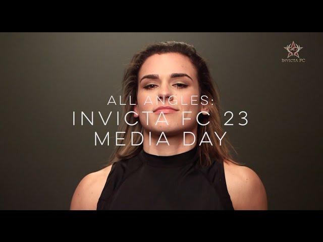 All Angles: Invicta FC 23 Media Day