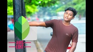 Snapsheed Retouch_Best Color Correction Snap sheed Blur Trick