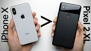 25 Reasons Why iPhone X Is Better Than Google Pixel 2 XL