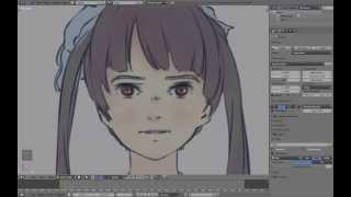 [Part 1/ 24] Blender anime character modeling tutorial - Reference and Eyes