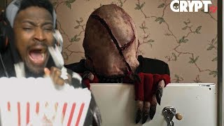 MOVIE NIGHT #1 | CRYPT TV Scary Short Horror FIlm Reaction | LooK-SeE