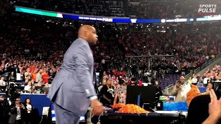 Charles Barkley's Roller Coaster Of Emotions During Auburn Loss   USA TODAY Sports