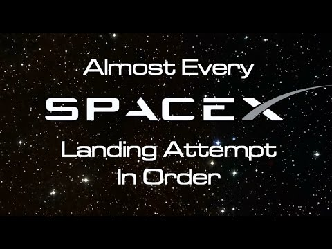 Xxx Mp4 Almost Every SpaceX Landing In Order 3gp Sex