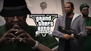GTA V End of the Line Part 1 | San Andreas Remake (GTA 5 Machinima)